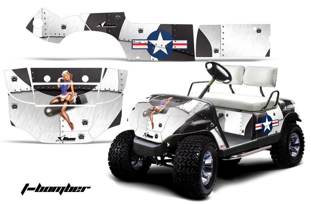 Wraps For Yamaha Golf Carts